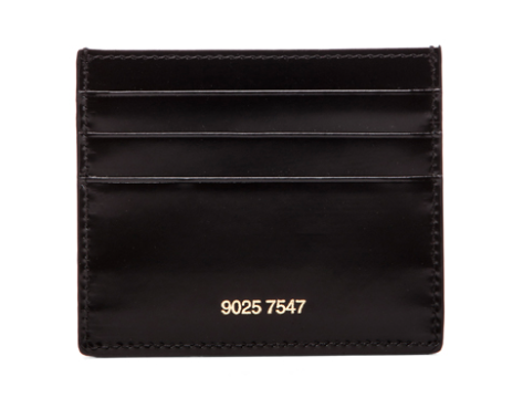 Common Projects Card Holder korthållare black leather