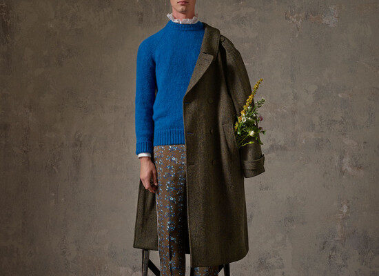 Erdem x H&M Men's Collection Lookbook 12
