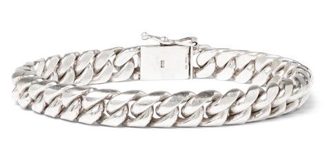 Foundwell 1970s Sterlign Silver Bracelet armband för män