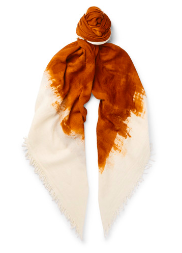 Massimo Alba for Mr Porter wool and silk scarf