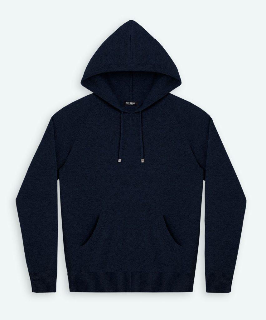 Ron Dorff Cashmere hoodie huvtröja