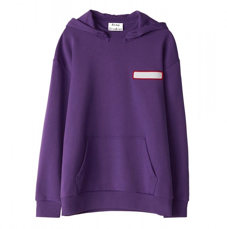 Acne Studios Diner Collection purple sweatshirt