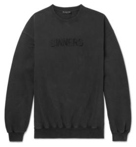 Balenciaga Sinners sweatshirt