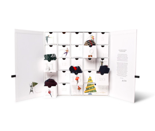 Corgi Sock Advent Calendar for Mr Porter Adventskalender strumpor