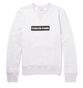 Coucou Paris printed sweatshirt from AMI