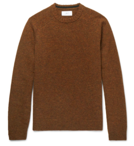 MR P. Shetland wool sweater