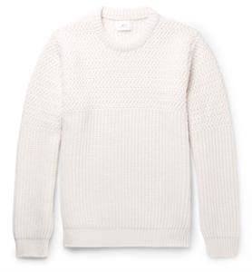 MR P. wool-blend sweater