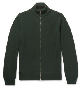 MR P. zip-up sweater
