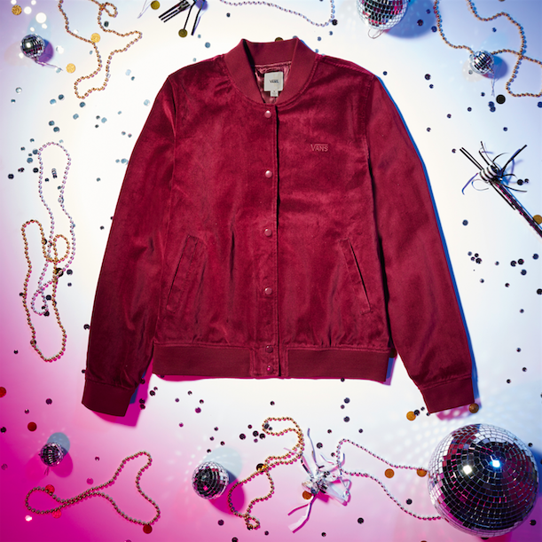 Vans Luxe Velvet Collection jacket