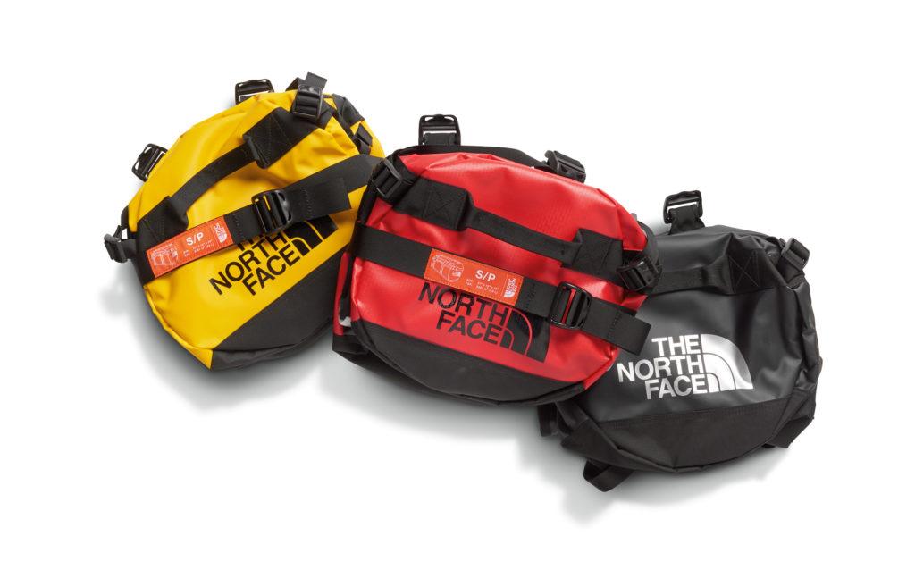 Vans x The North Face duffel bag