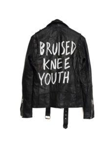 Deadwood Leather Jacket Bruised Knee Youth