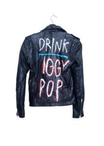 Deadwood Leather Jacket Drink Iggy Pop
