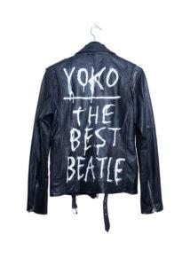 Deadwood leather biker jacket Yoko The Best Beatle