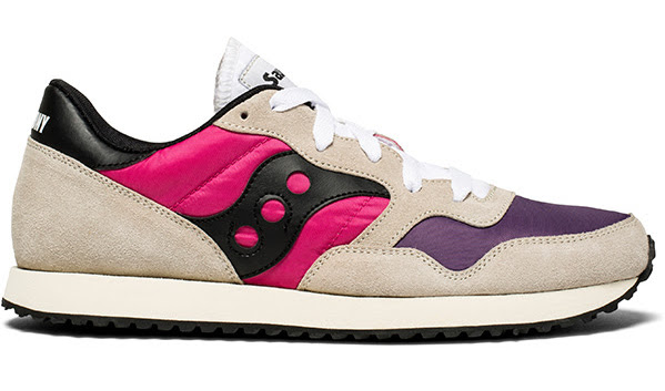 Saucony DXN Trainer Vintage White:Pink:Purple