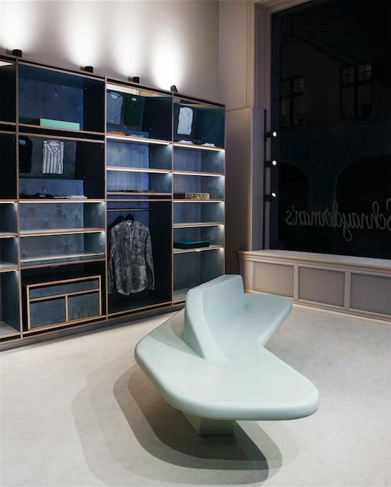 Schnayderman's butik på Mäster Samuelsgatan 10 i Stockholm 4