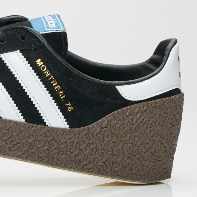 Sneakers adidas Montreal 76 black white gold