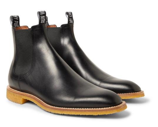 Chelsea boots i läder från Givenchy