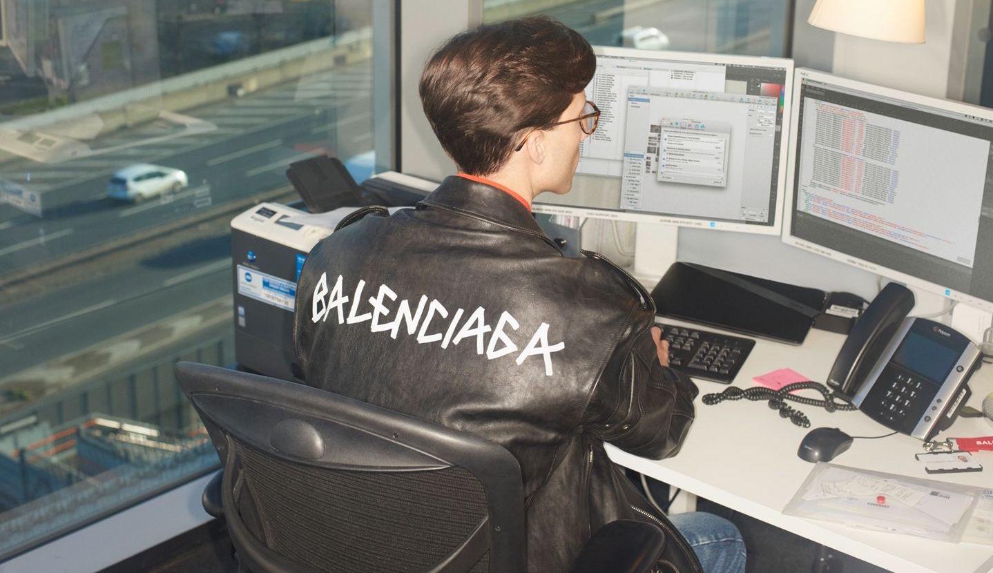 MR PORTER x Balenciaga bjuder på modernt kontorsmode