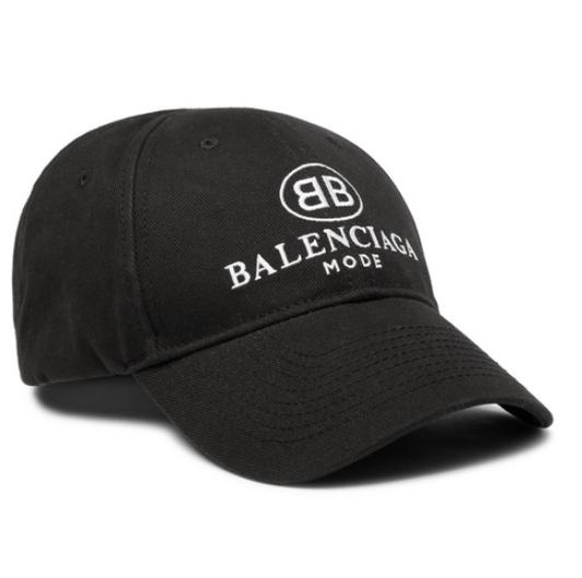 MR PORTER x Balenciaga black cap