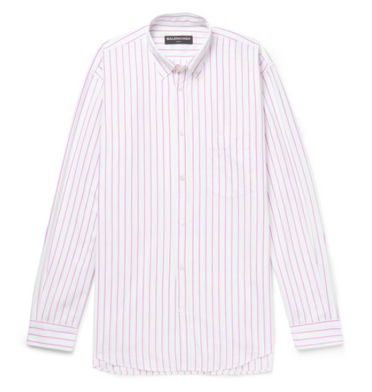 MR PORTER x Balenciaga printed shirt