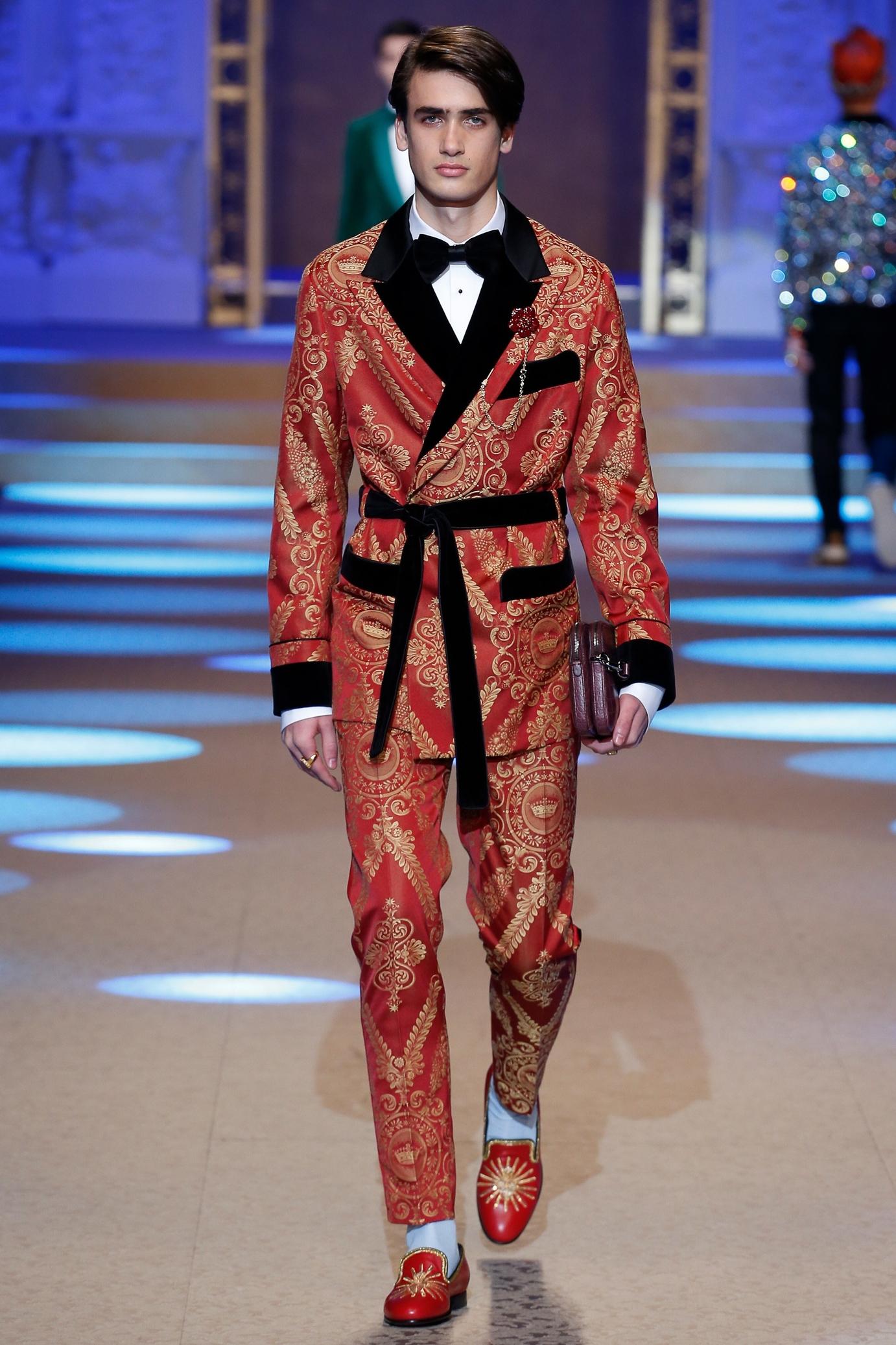 Menswear Fall:Winter 2018 Dolce & Gabbana