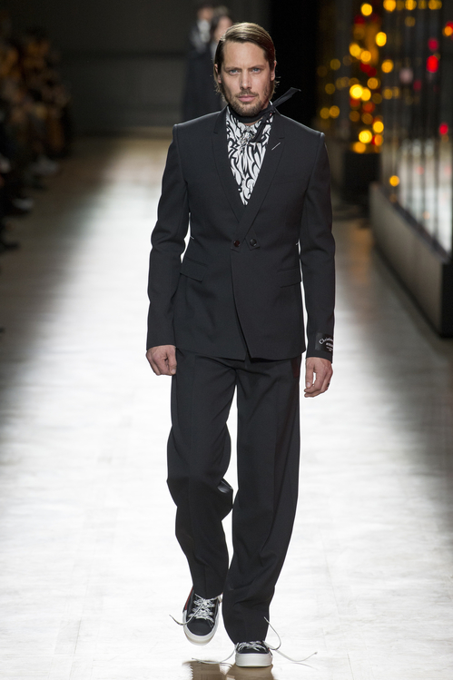 Modeveckorna AW18 - James Rousseau in the Dior Homme Fall:Winter 2018-2019