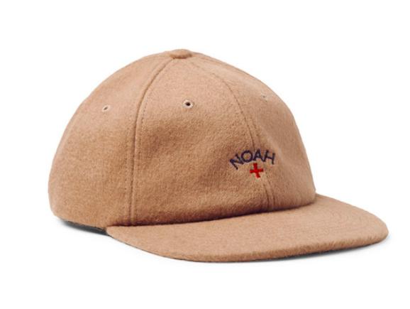 NOAH Baseballkeps Embroidered Baby Camel Hair Baseball Cap