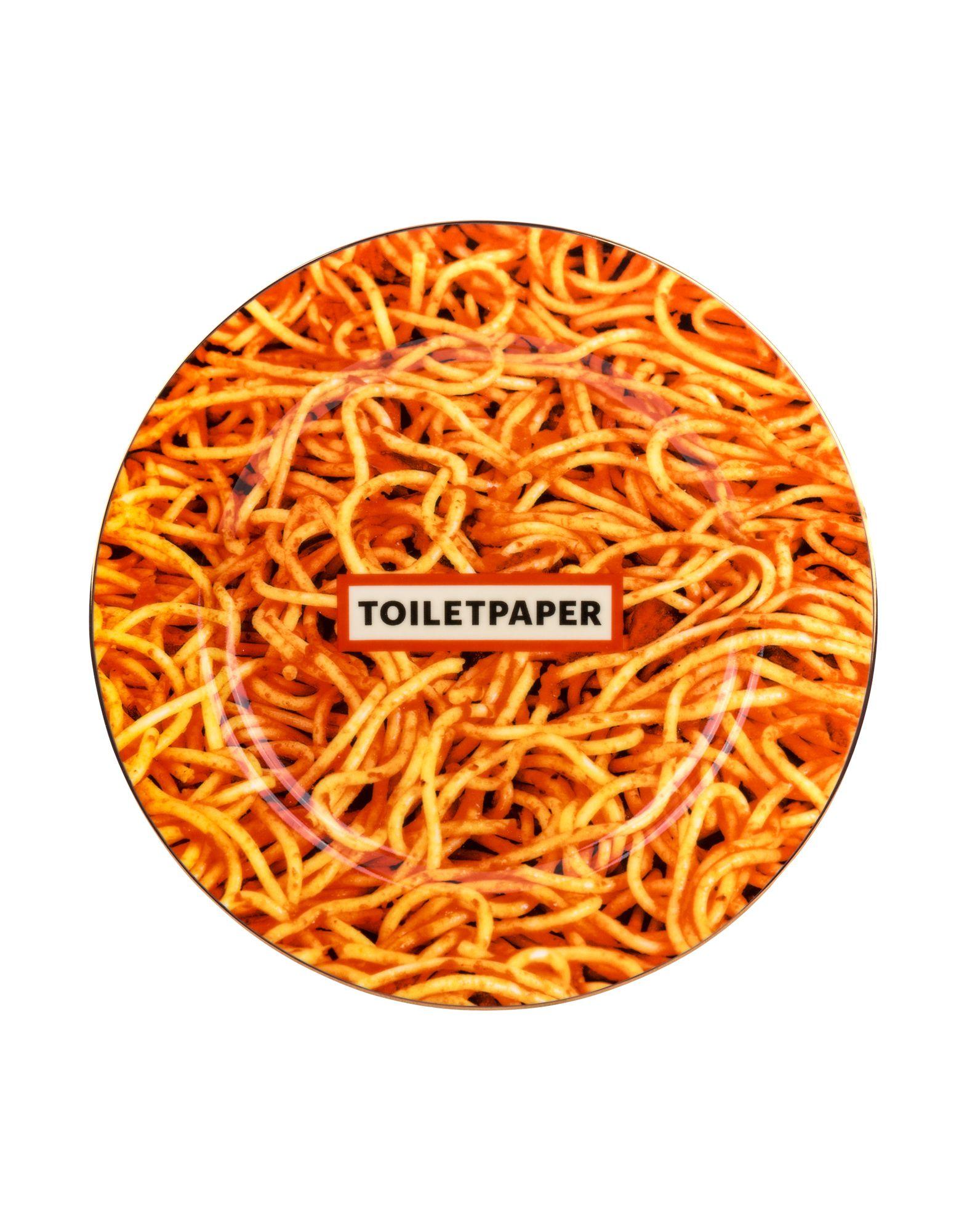 Seletti Wears Toiletpaper Spaghetti Plate Inredning
