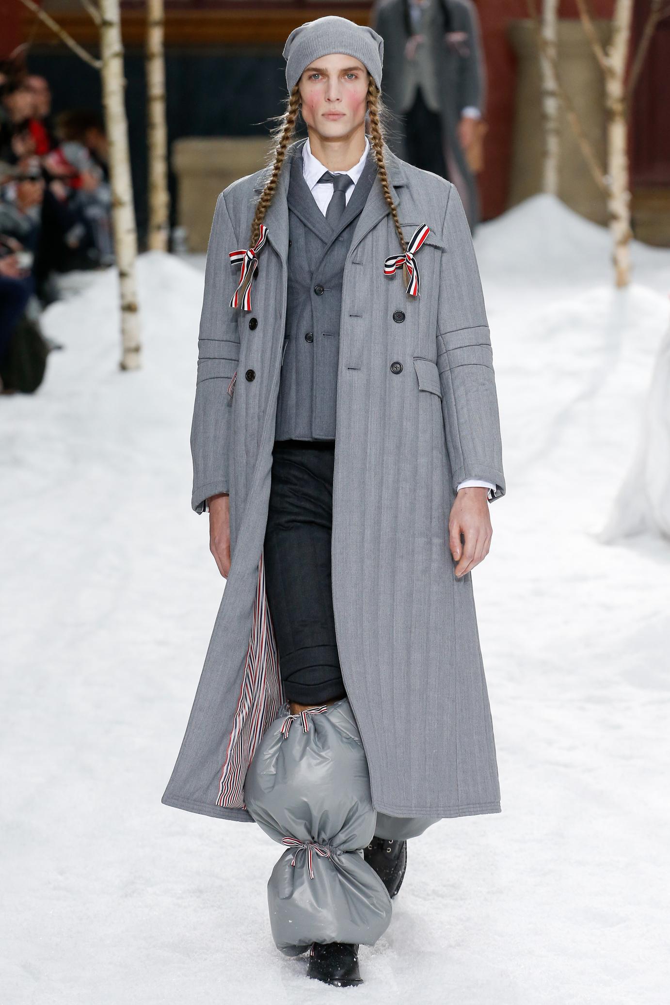 Thom Browne FW18 Menswear