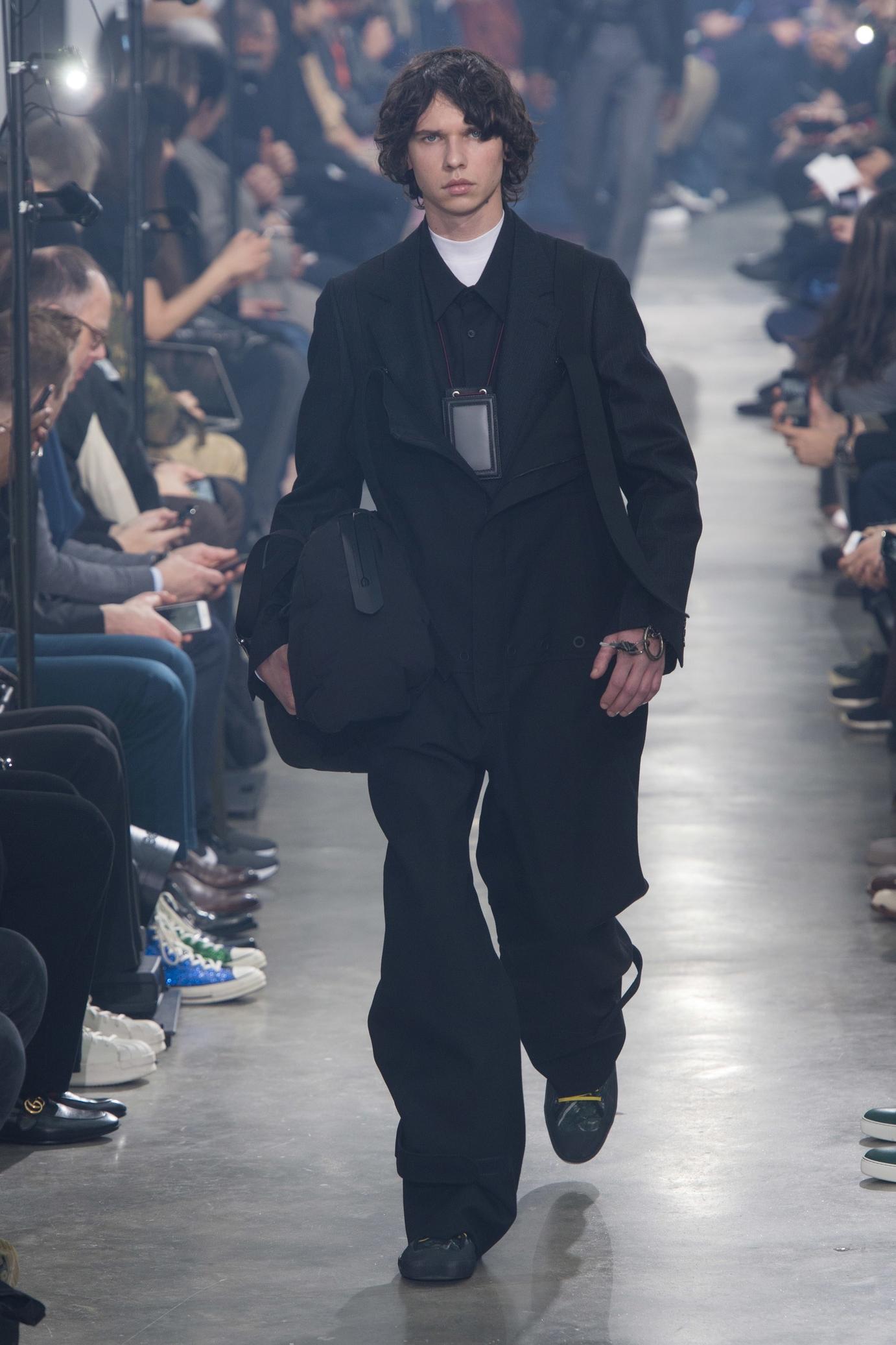Trednspaning från modeveckorna AW18 - Lanvin Menswear Fall:Winter 2018