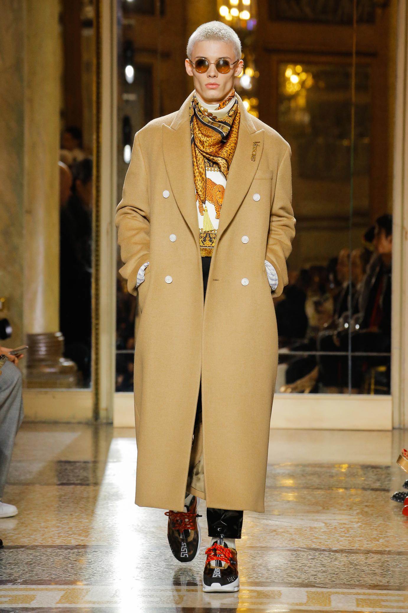 Versace FW18 Menswear 2