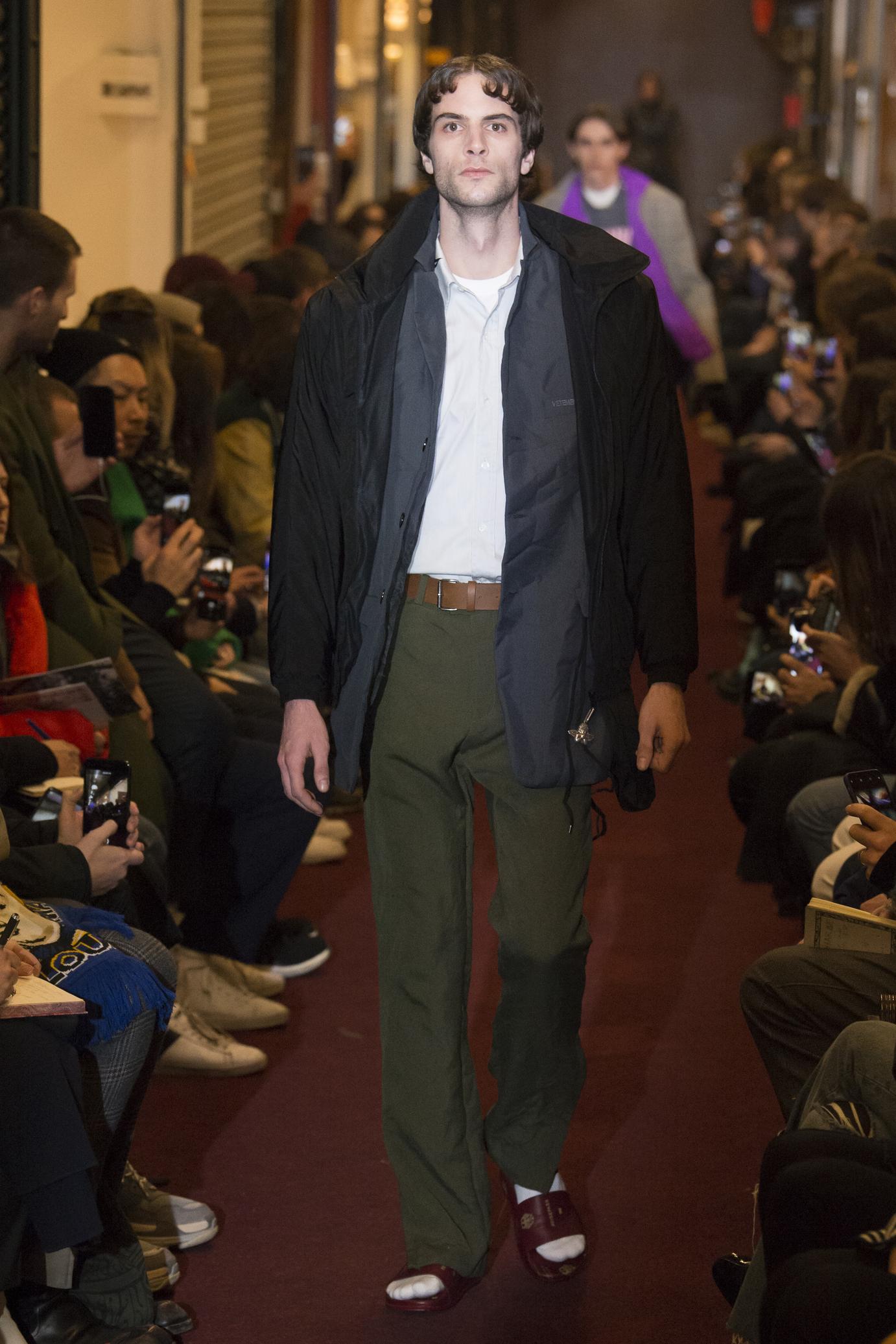 Vetements FW18 Menswear