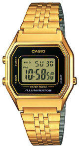 9 fina klockor - från budget till lyx - Casio Collection Guld