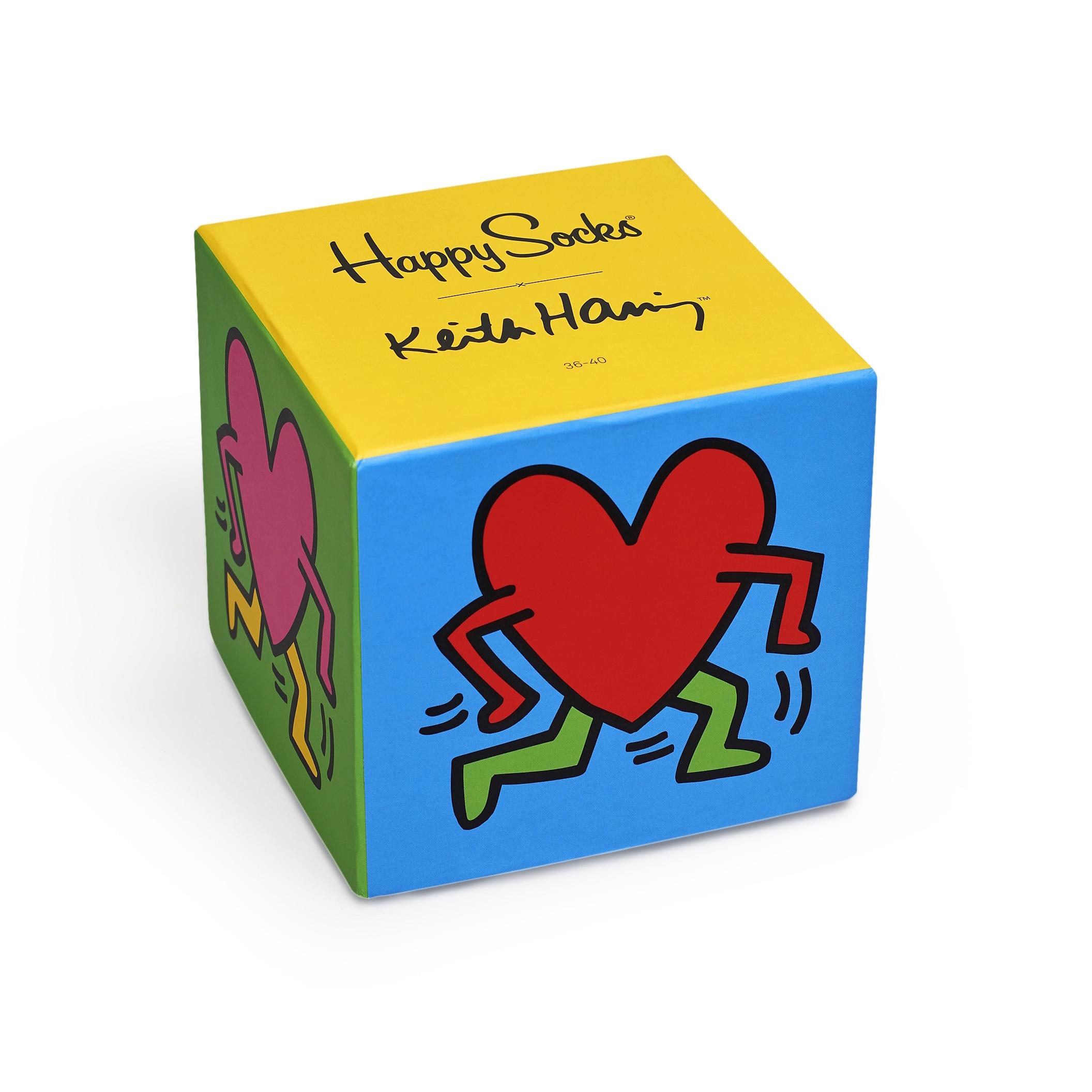 Alla hjärtans dag - Happy Socks x Keith Haring