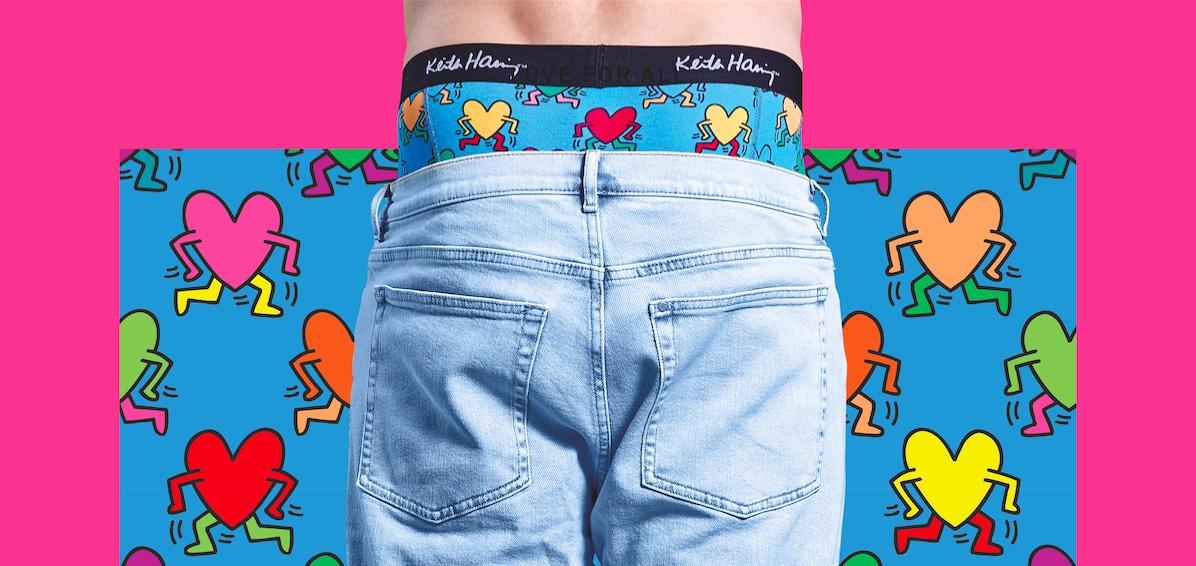 Happy Socks x Keith Haring vill ge kärlek till alla