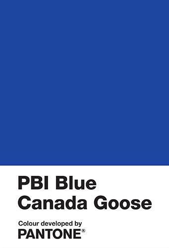 Pantone x PBI x Canada Goose