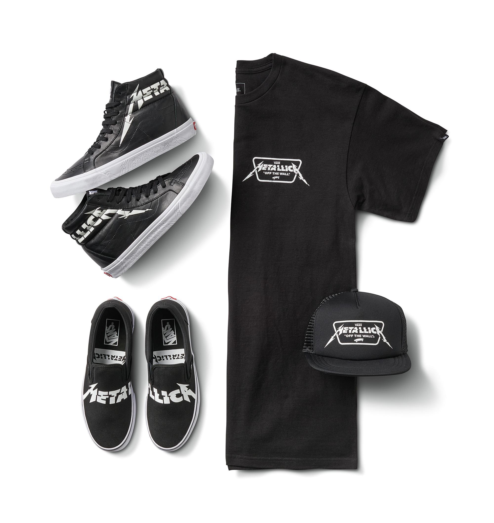 Vans x Metallica full collection