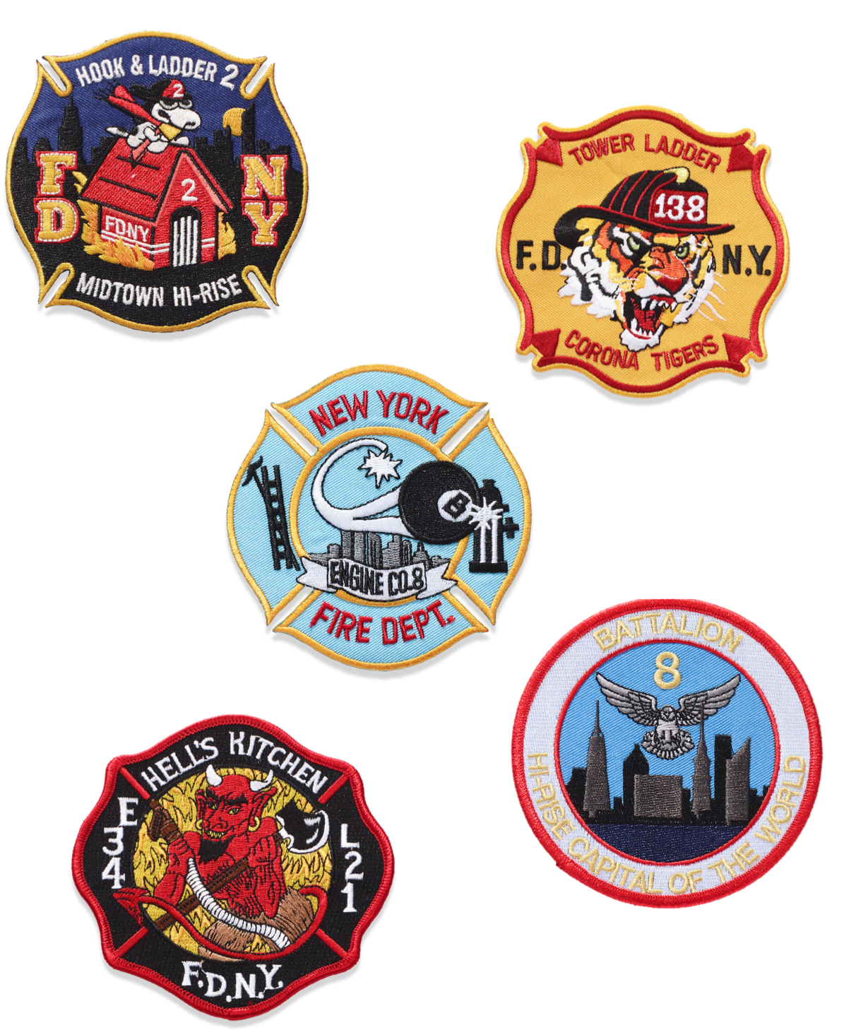 Canada Goose x FDNY – The Bravest Coat Badges
