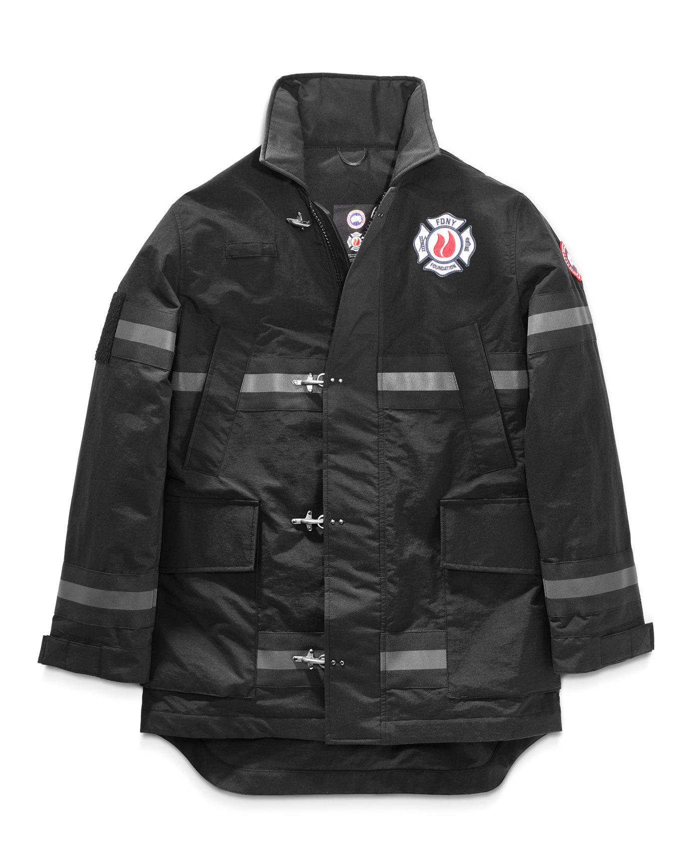 Canada Goose x FDNY – The Bravest Coat White Background