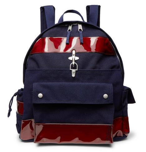 Outfit - Raf Simons + Eastpak Vinyl Trimmed Backpack
