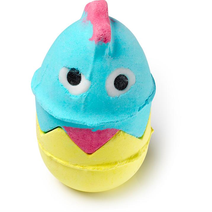 Påskpresenter - Badbomb kyckling från Lush