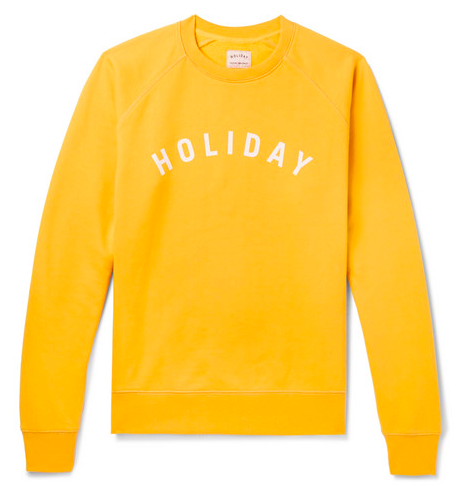 Påskpresenter - Holiday Boileau yellow sweatshirt