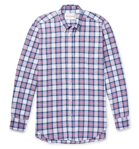 Rutiga skjortor - Our Legacy checked flannel shirt
