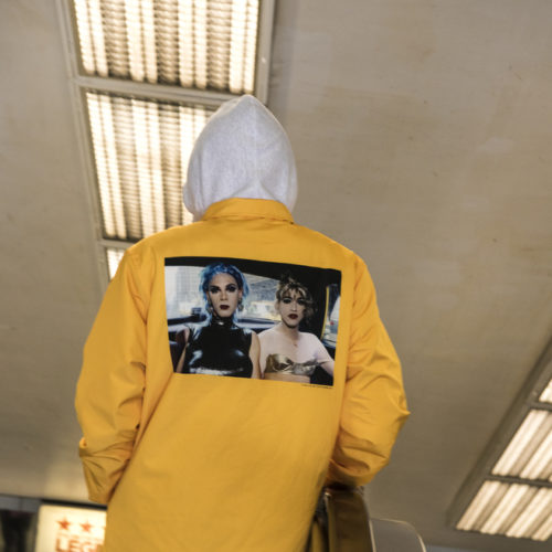 Supreme x Nan Goldin Yellow Jacket