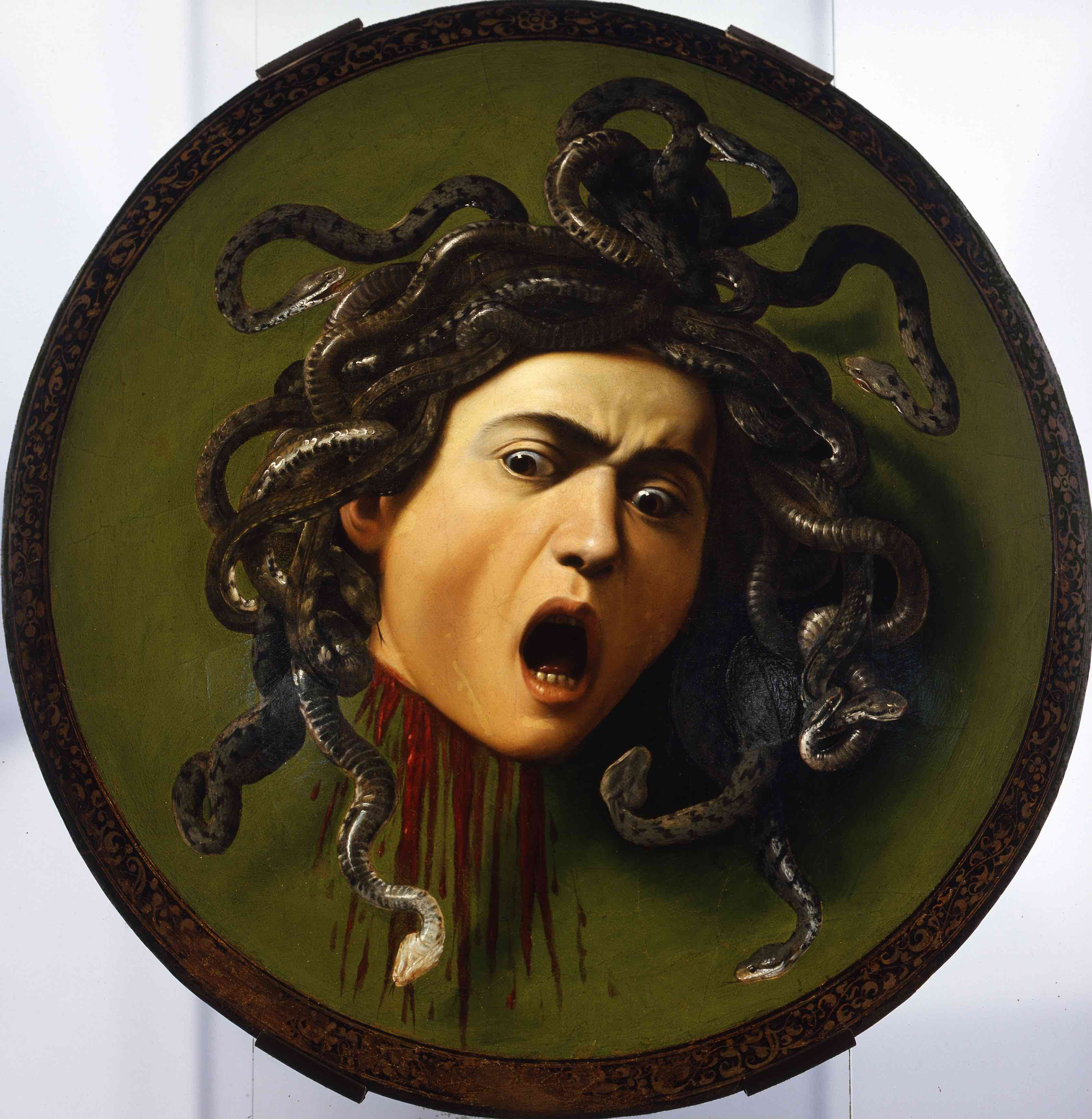 10. Caravaggio Medusa