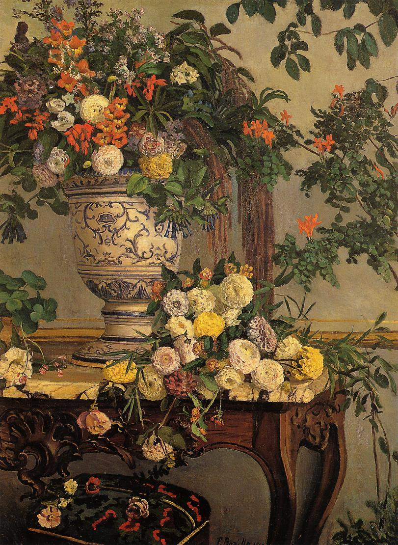 16. Bazille flowers