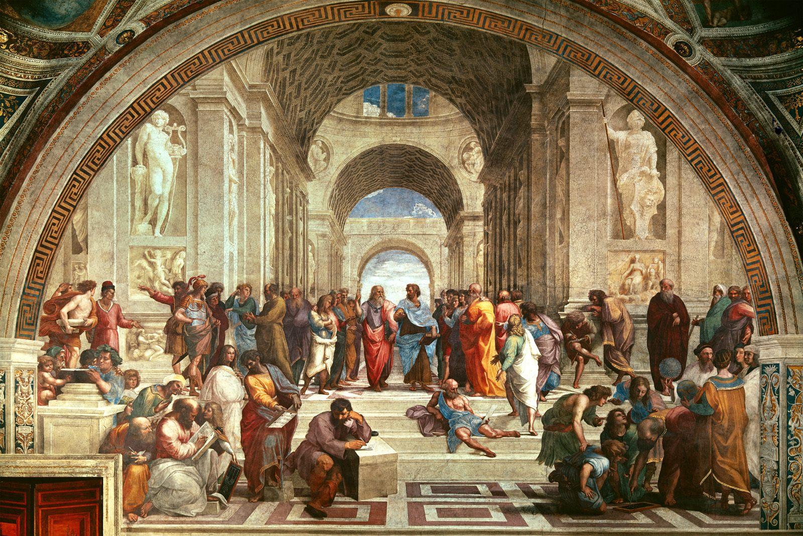 24. School of Athens