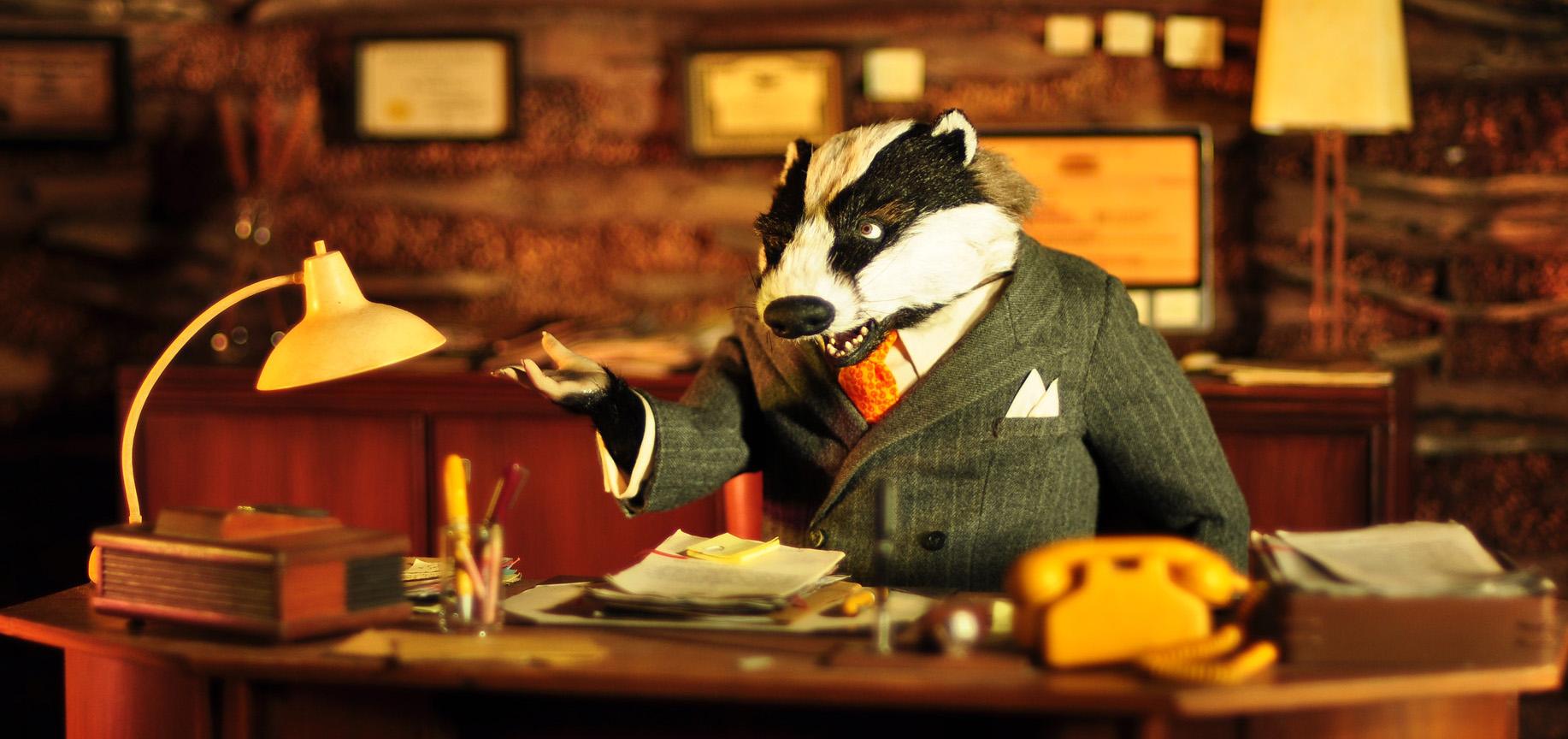 28. Badger Fantastic Mr. Fox