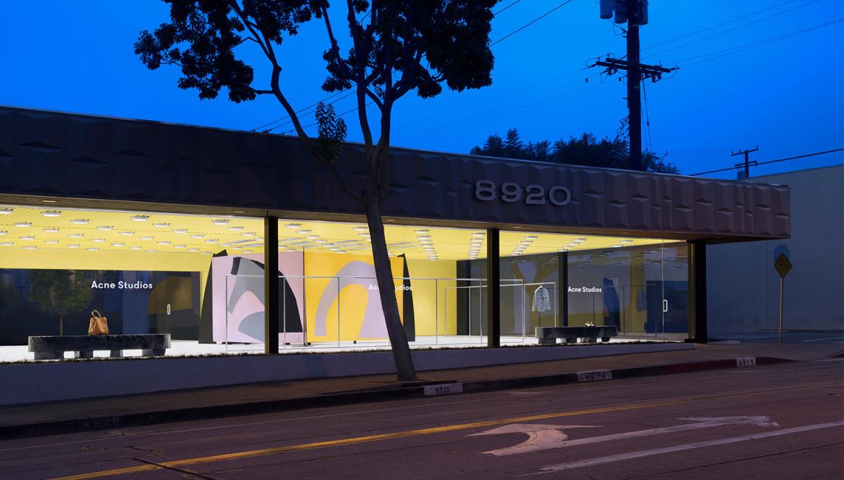 Acne Studios nya butik i West Hollywood