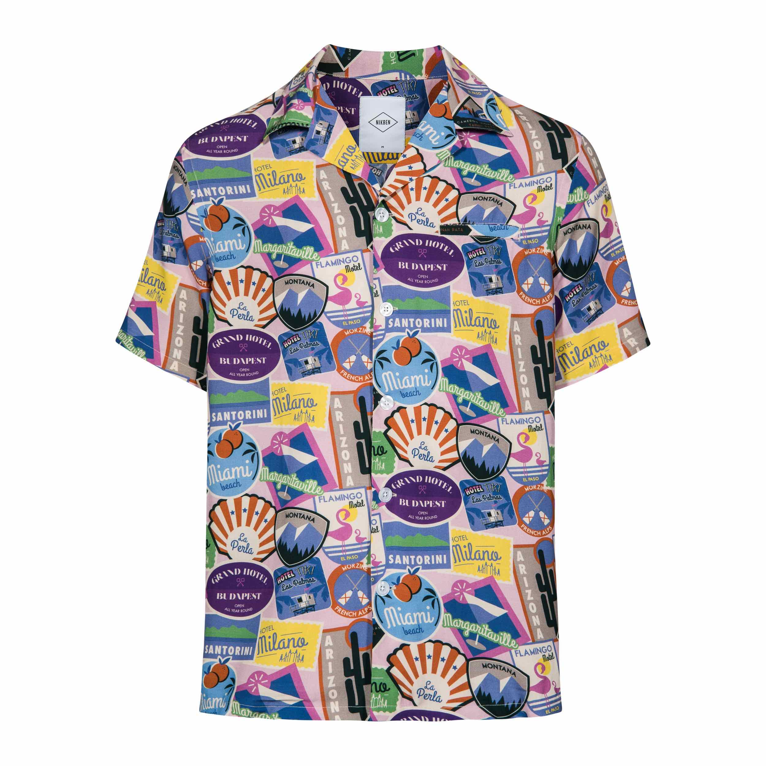 NIKBEN Resort Shirts Signs